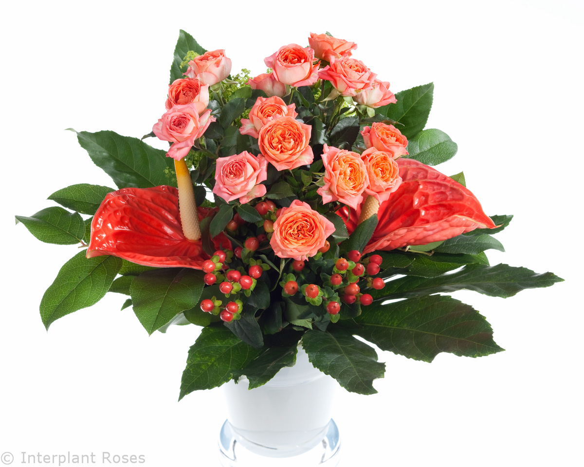 spray rose bouquets Charming