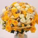 Interplant spray rose arrangement Easter