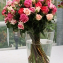 Spray Rose arrangement Interplant Flashing