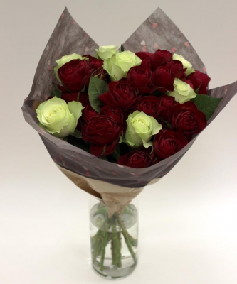 Red Lace, Clustar Roses