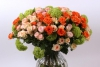Spray rose arrangement Interplant variety Babe, Alexine